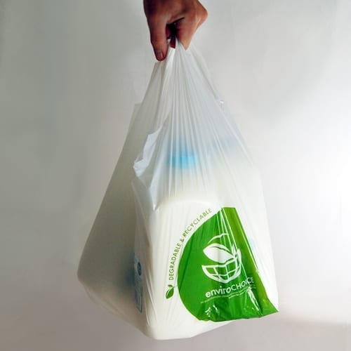oxo-biodegradable carry bag