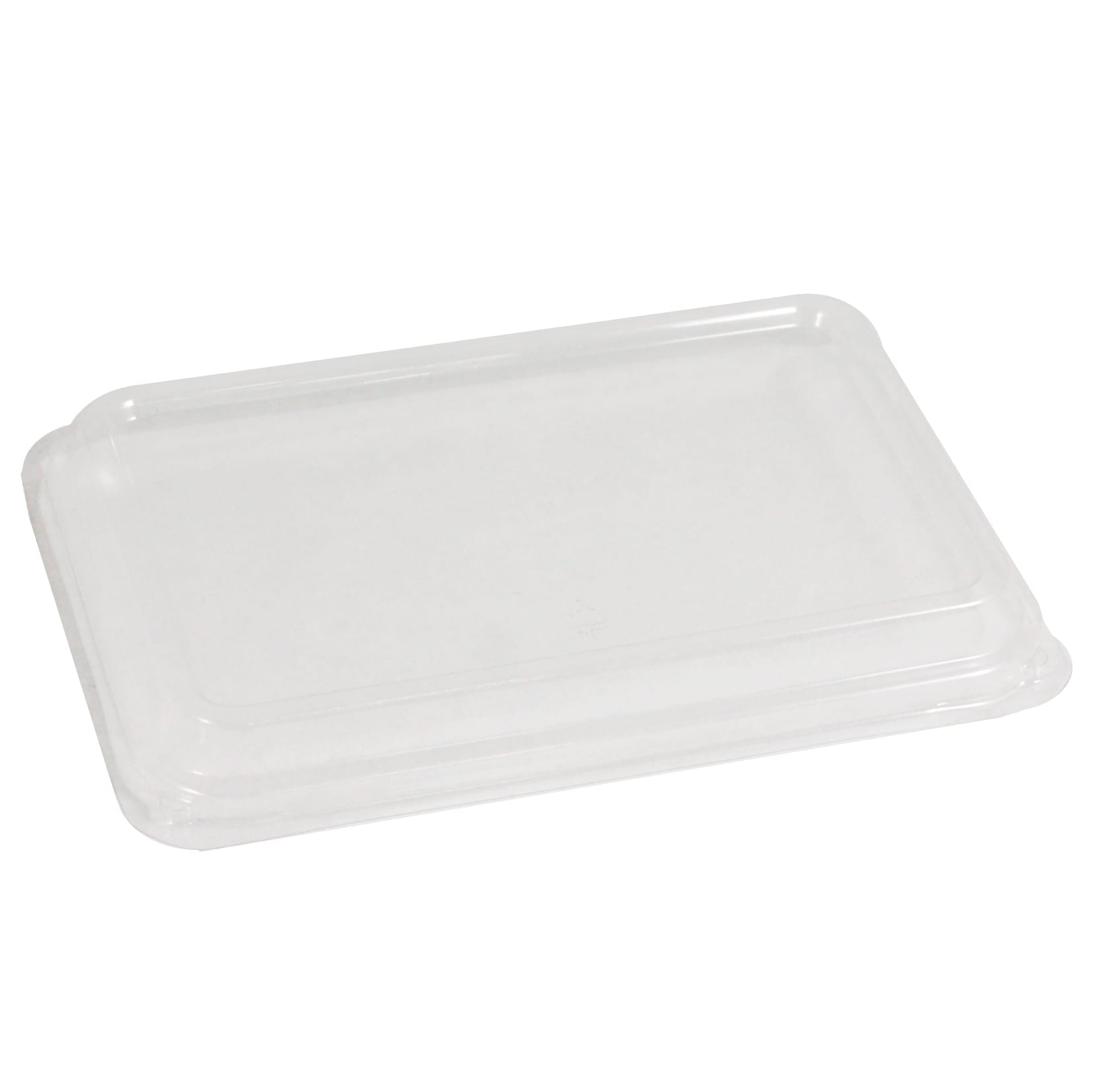 Rectangular PET lid