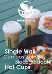 Single Wall Coffee Cups