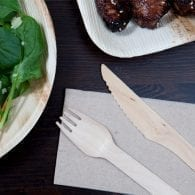 Wooden Cutlery + Skewers