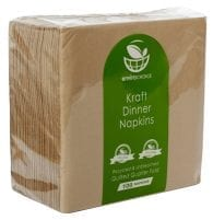 Quarter fold dinner napkin kraft