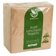 quarter fold lunch napkin kraft